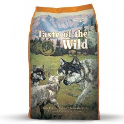 Taste of the Wild High Prairie Puppy Bisonte y Venado 13.6 kg ( 2 sacos )