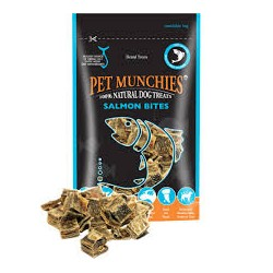 Pet Munchies Salmón Bites 90g ( Pack de 8 )
