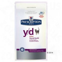 Hill's y/d Prescription Diet Feline 2 x 5kg