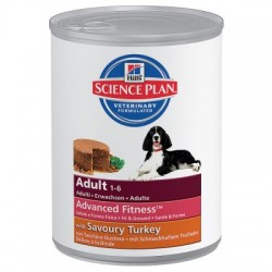 Hill's Canine Adult Advanced Fitness Pavo ( 12 latas x 370g )