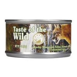 Taste of the Wild Cat Rocky Mountain Lata 155g