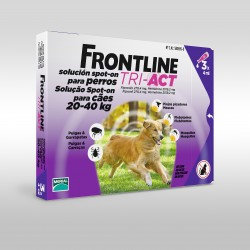 Frontline Tri-Act Pipetas Spot on Perros 20-40kg