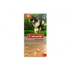 Advantix Perro 10-25kg ( 6 pipetas x 2.5 ml )