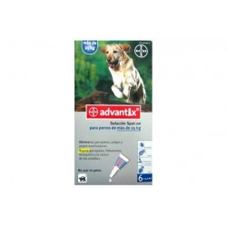 Advantix Perro + de 25kg ( 6 pipetasx 4ml )