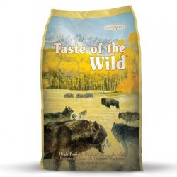 Taste of the Wild High Prairie Adult Bisonte y Venado 13.6 kg ( 2 sacos )