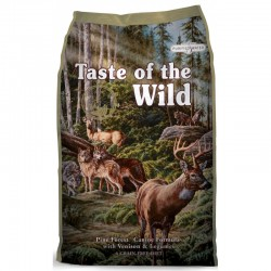 Taste of the Wild Pine Forest Venado y Garbanzos 12.7kg ( 2 sacos )