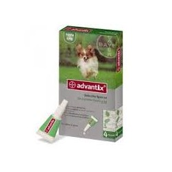 Advantix Perros hasta 4 kg ( 6 pipetas x 0.4ml)